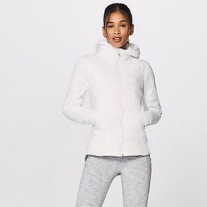 Lululemon Extra Mile Jacket NWT SZ 10 White
